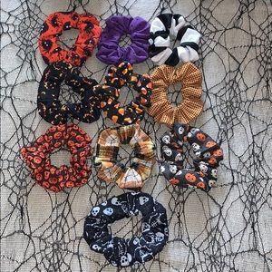 Fall / Halloween Scrunchie Set